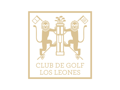 logo club de golf los leones
